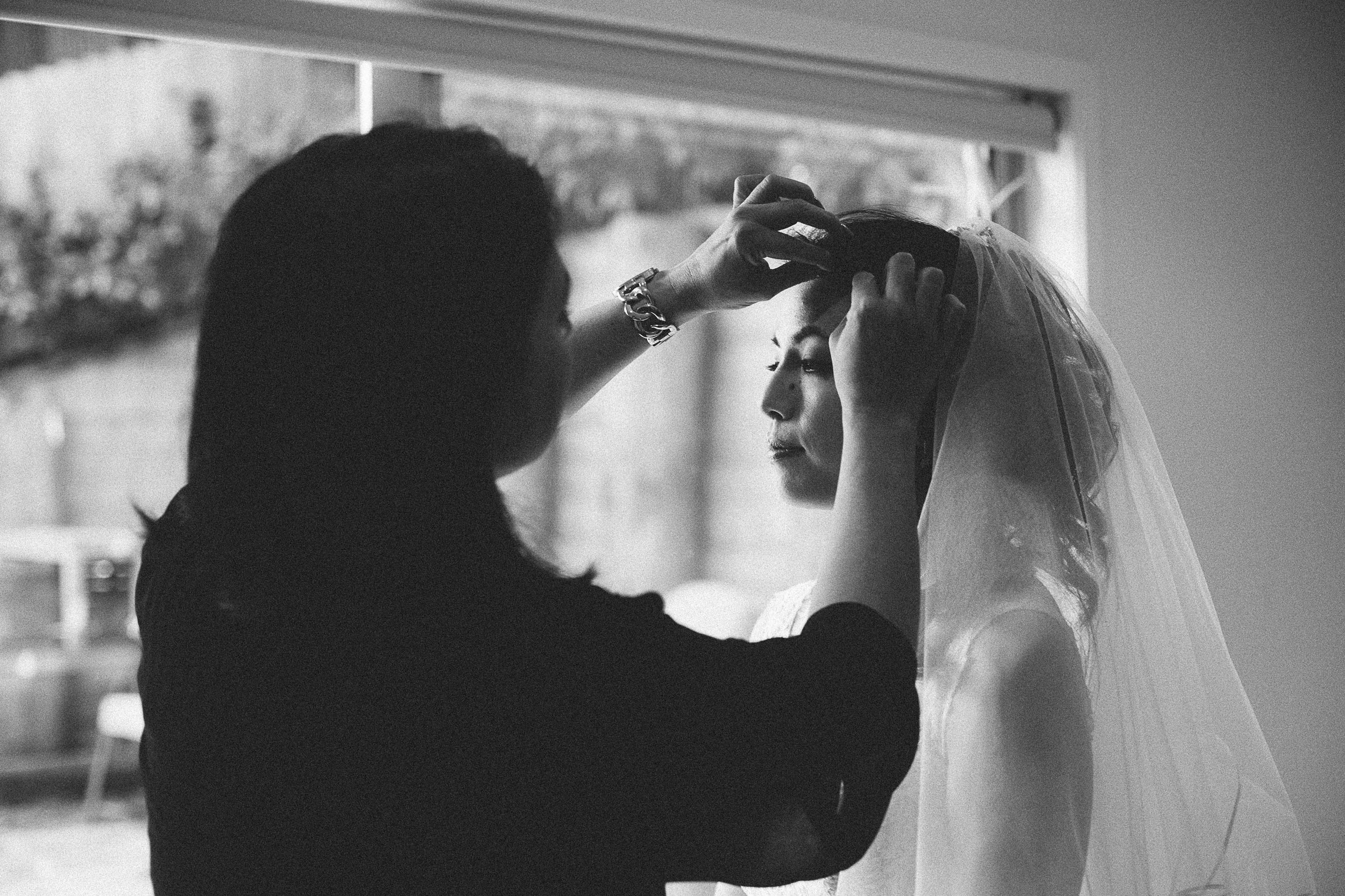 Make Up Artist and Bride