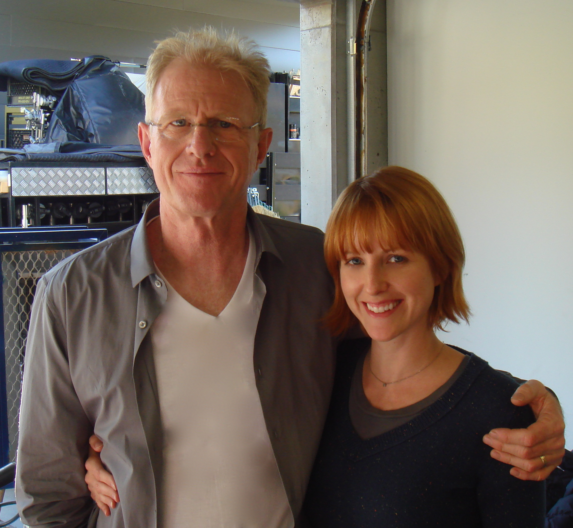 Terryn and Ed Begley