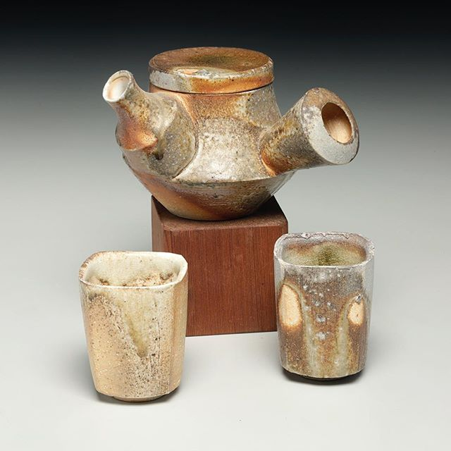 Tea for two! #woodfired #ceramics #nclove