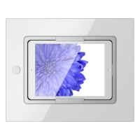 ViverooUSA Square iPad Mount in Clear White