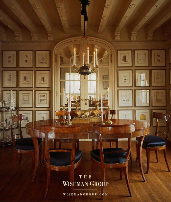 dining room  at wiseman apartment