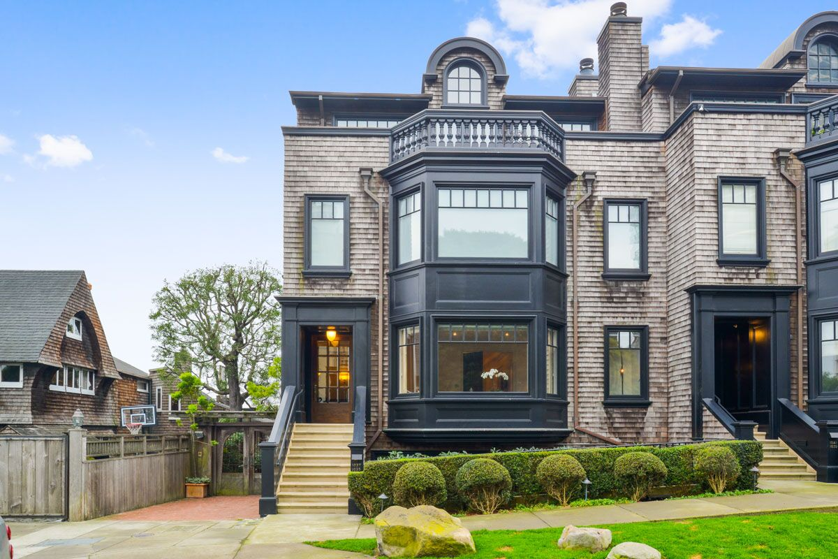 Russian Hill Townhouse - 1035 Vallejo street - $3,600,000