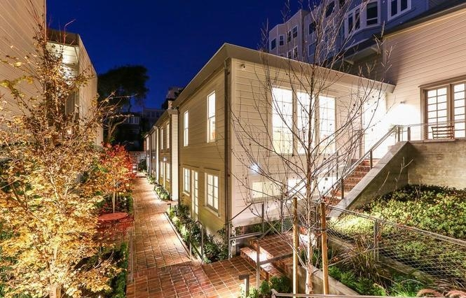 historic russian hill cottages - 1338 filbert street - $4,450,000