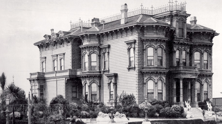 The M.H. and Katherine de Young estate at 1919 California Street