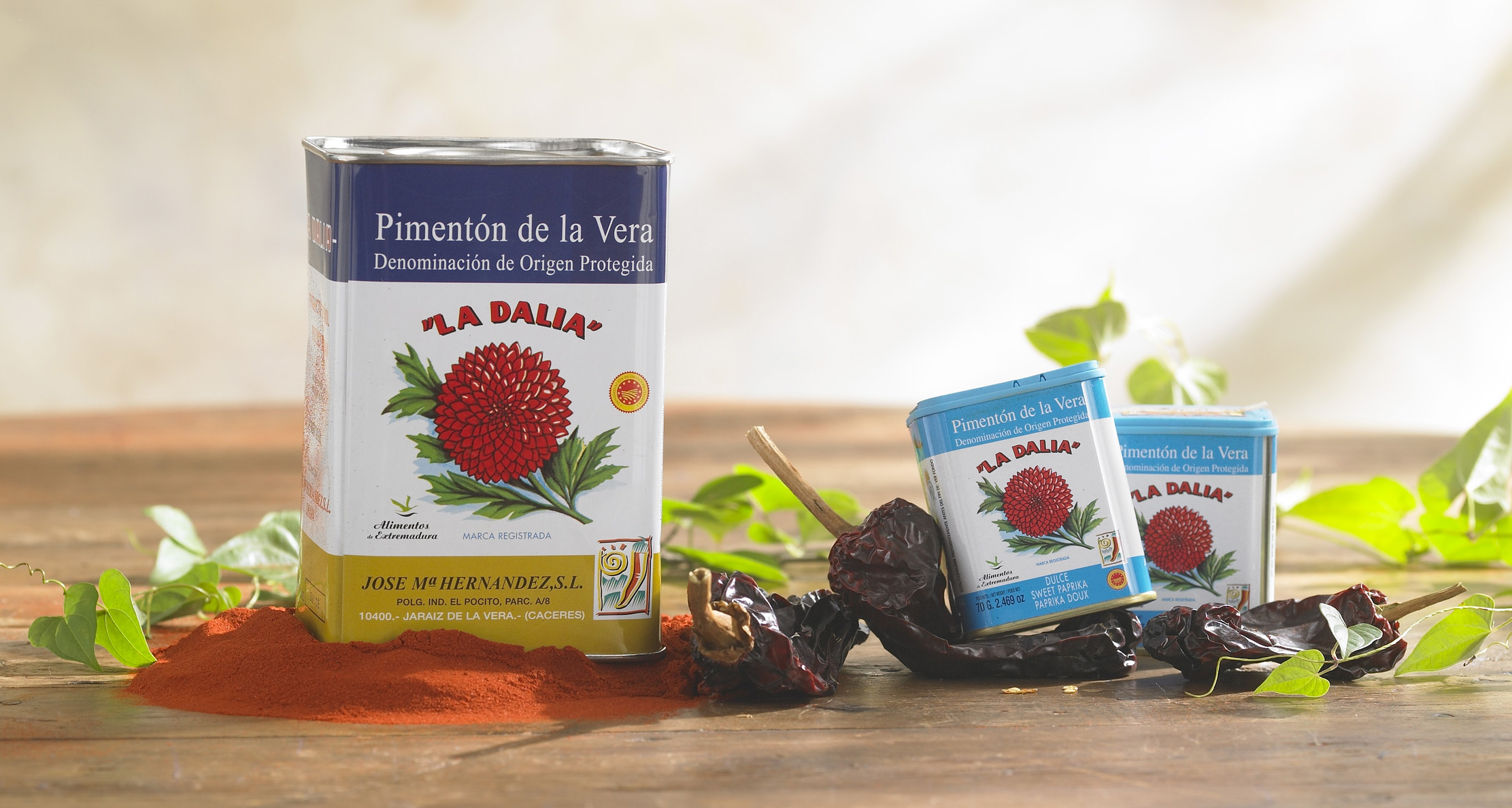 La Dalia brand pimentón was the first to gain the coveted status of Denomination of Origin, a guarantee of quality and consistency.