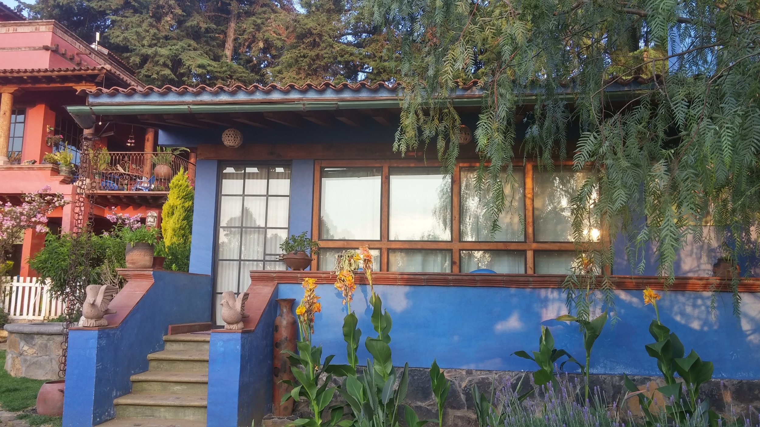 """Our home away from home, the """"Blue Casita."""""""