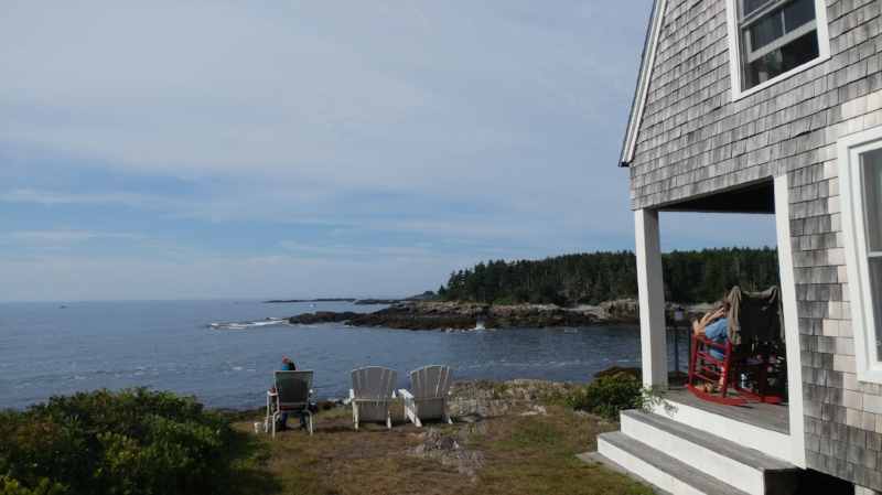 Bailey Island. ME was our retreat spot for a few days.