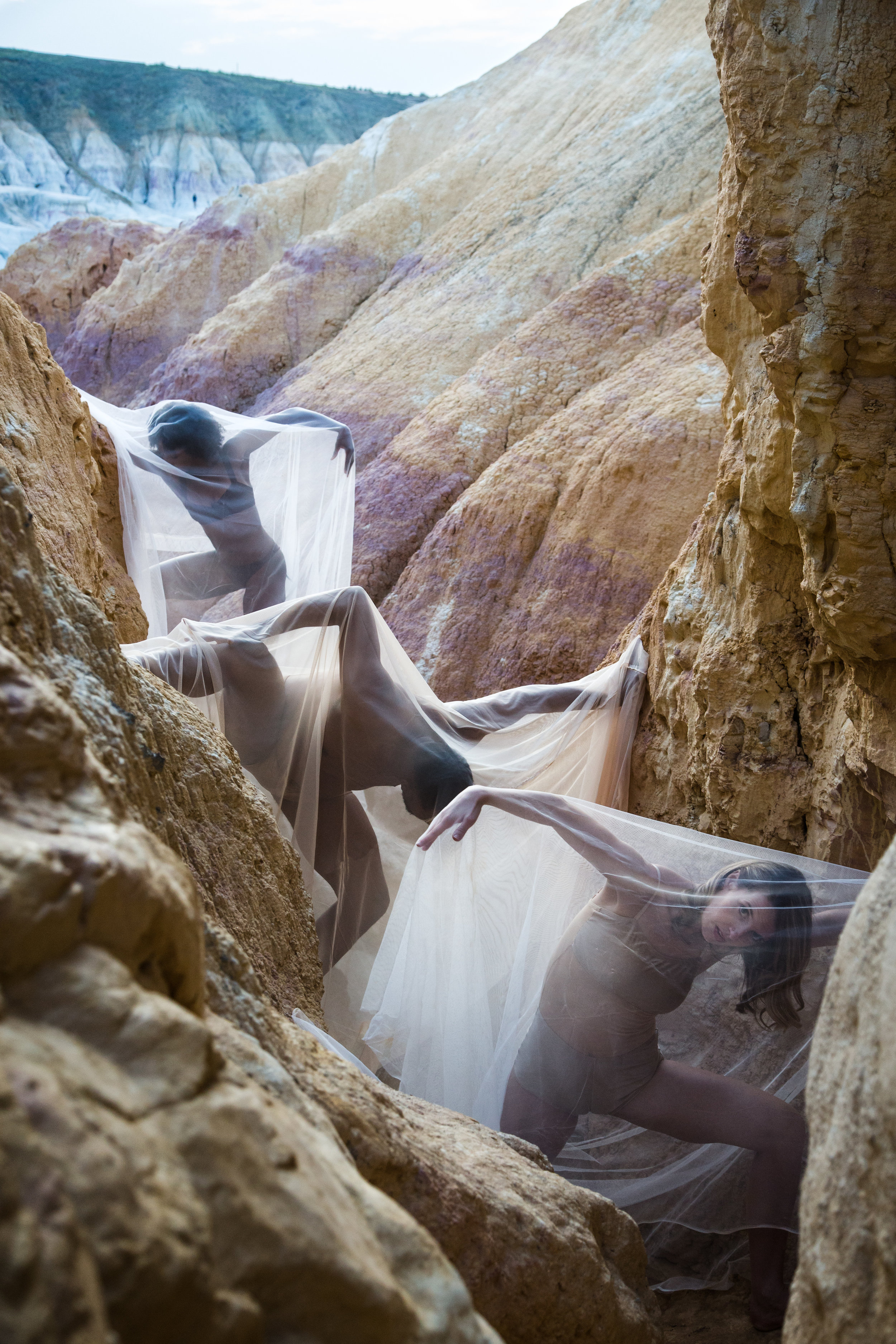 Sierra Voss Photography Paint Mines Three Bodies
