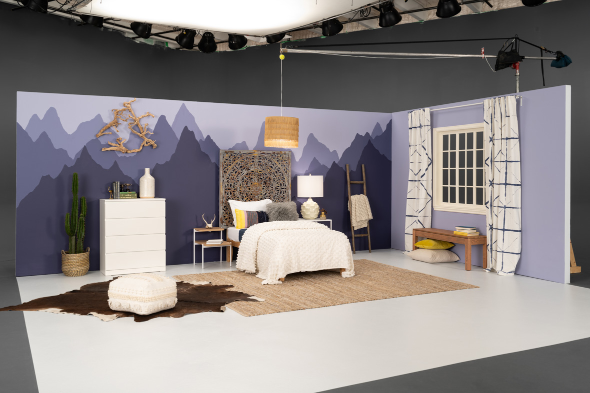 Set Build & Styling  (Built with  Molly Oconnell  for  Bluprint  Under Creative Direction Of  Suzanne Heintz )