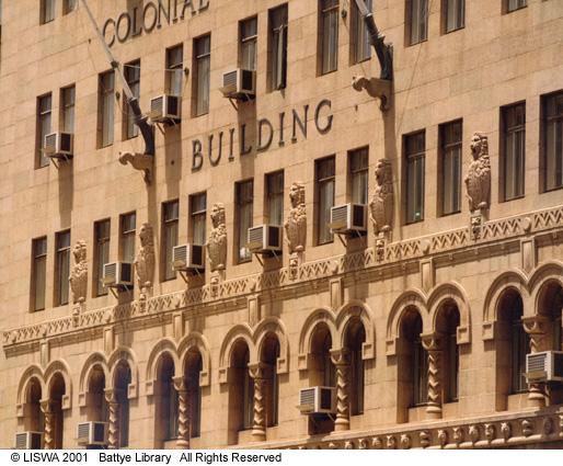 CML building, William Street, 1976