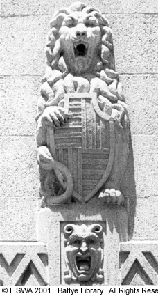 Lion, CML Building, 1970