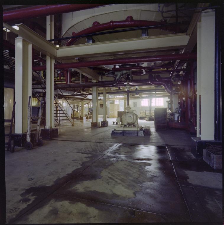 Interior of Emu Brewery, 1978