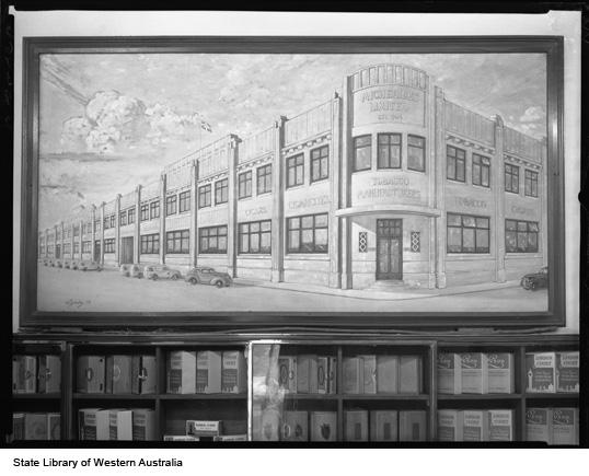 Sketch of Michelides Ltd, 1952
