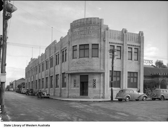 Michelides Tobacco Ltd, ca 1940