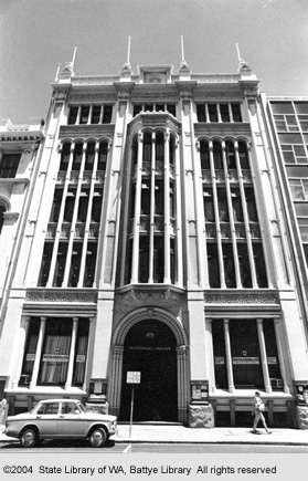 National House (Viking House), 49 William St, 1970
