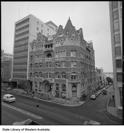Perpetual Trustees House, 1972