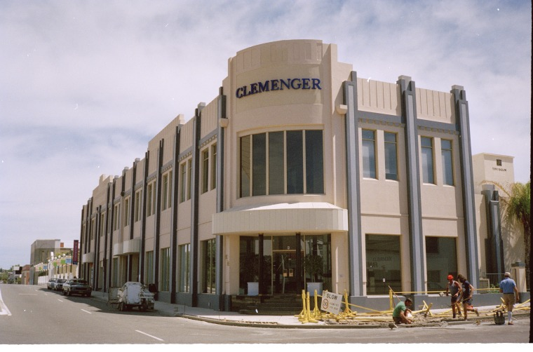"""""""Clemenger"""", formerly Peters Ice Cream, formerly Michelides Tobacco, late 1980's"""