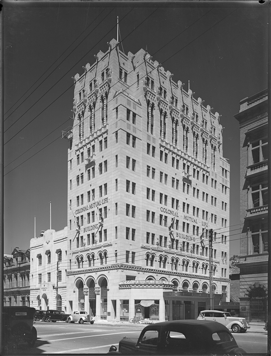 Colonial Mutual Life Building, 55 St George's Terrace, Perth, 11 October 1936