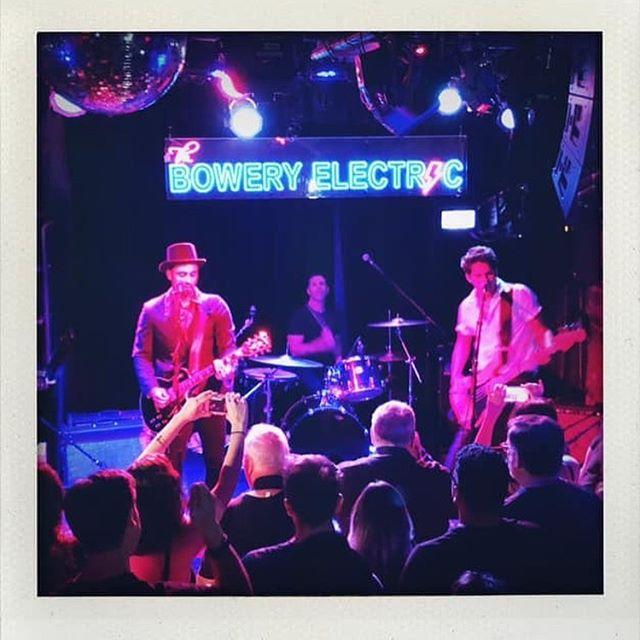 Some polaroids from last night #JohnnyThundersBirthdayBash2019 @theboweryelectric @lenny_kaye