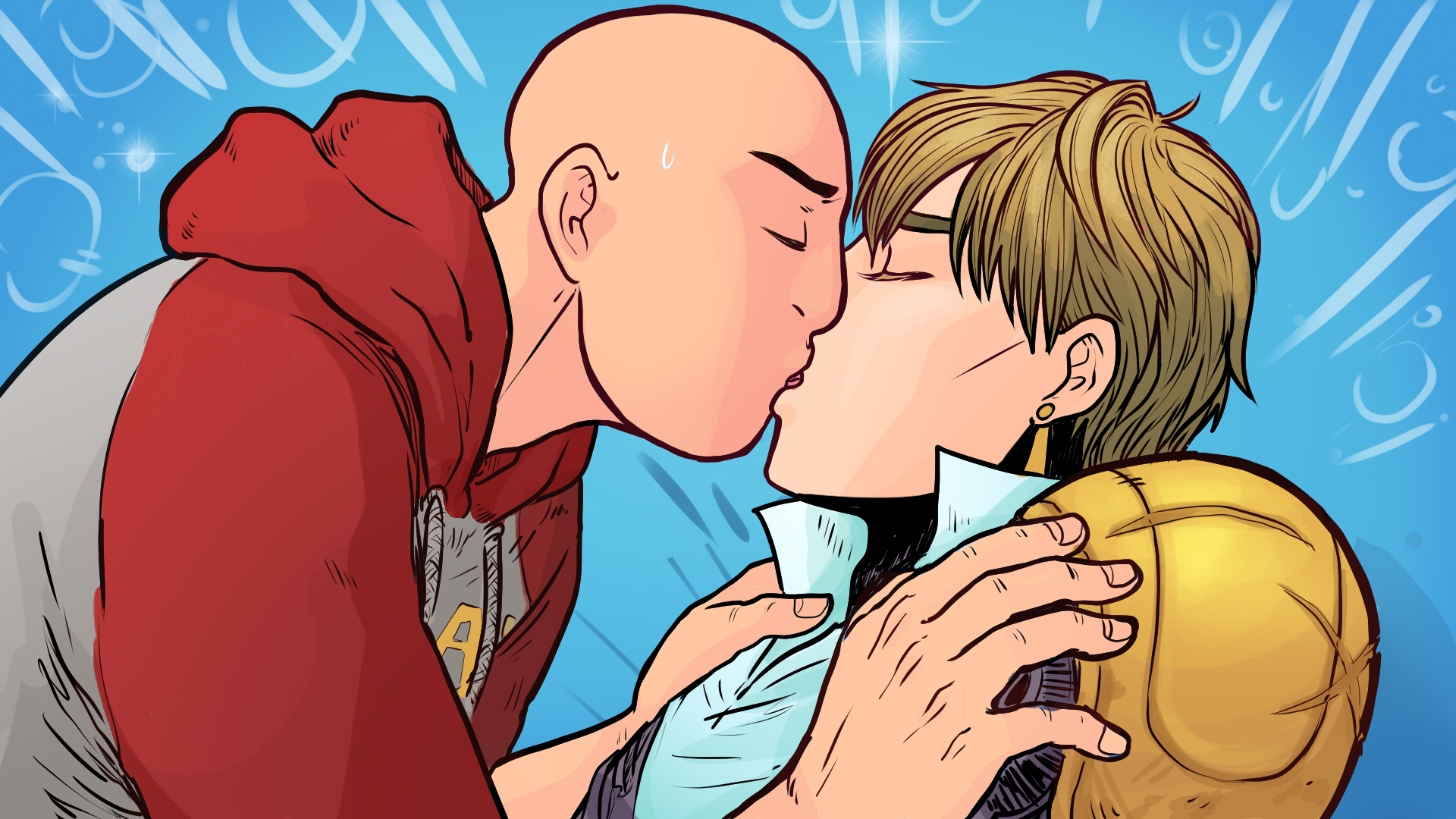 Genos Route Romance - Stay and Help