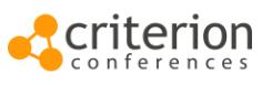 Franklin Shanks clients - Criterion Conferences