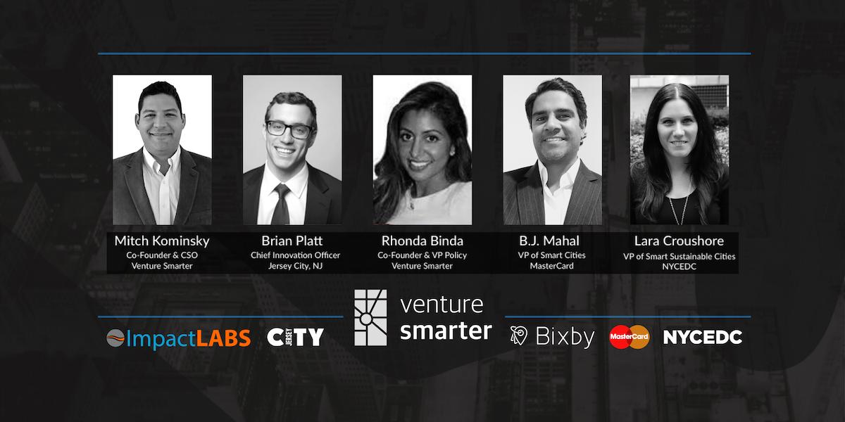 Venture Smarter's NYC Smart City Leadership Summit Speakers & Sponsors