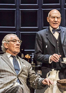"""Lensic Presents National Theatre Live in HD """"No Man's Land"""" starring Patrick Stewart and Ian McKellen"""