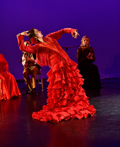 Teatro Paraguas presents Holiday Flamenco 2016 Mina Fajardo & Company