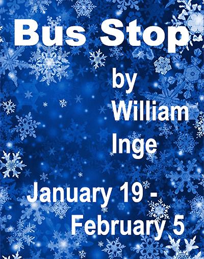 Bus Stop at The Adobe Rose Theatre in Santa Fe
