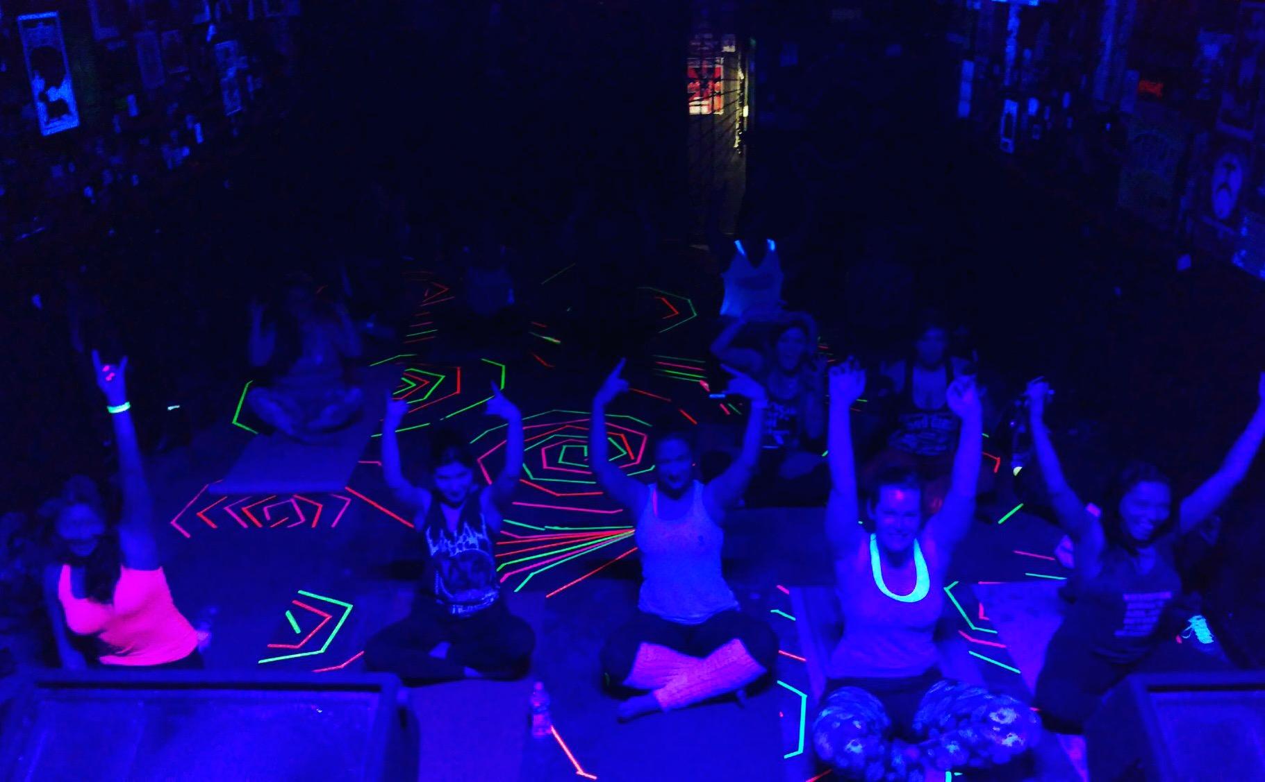 Black Light Black Metal Yoga Forever!!!