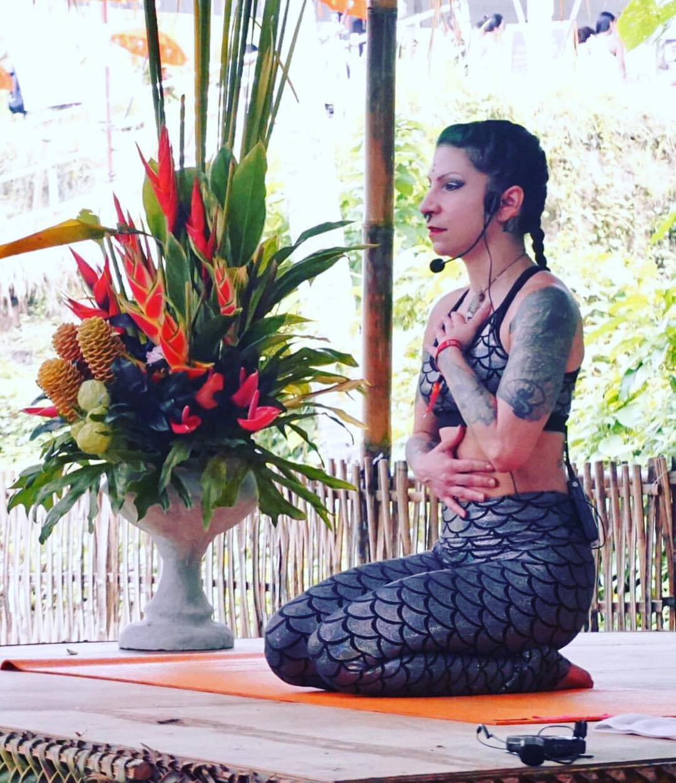 Teaching at Bali Spirit Fest; Bali, Indonesia; March 2017