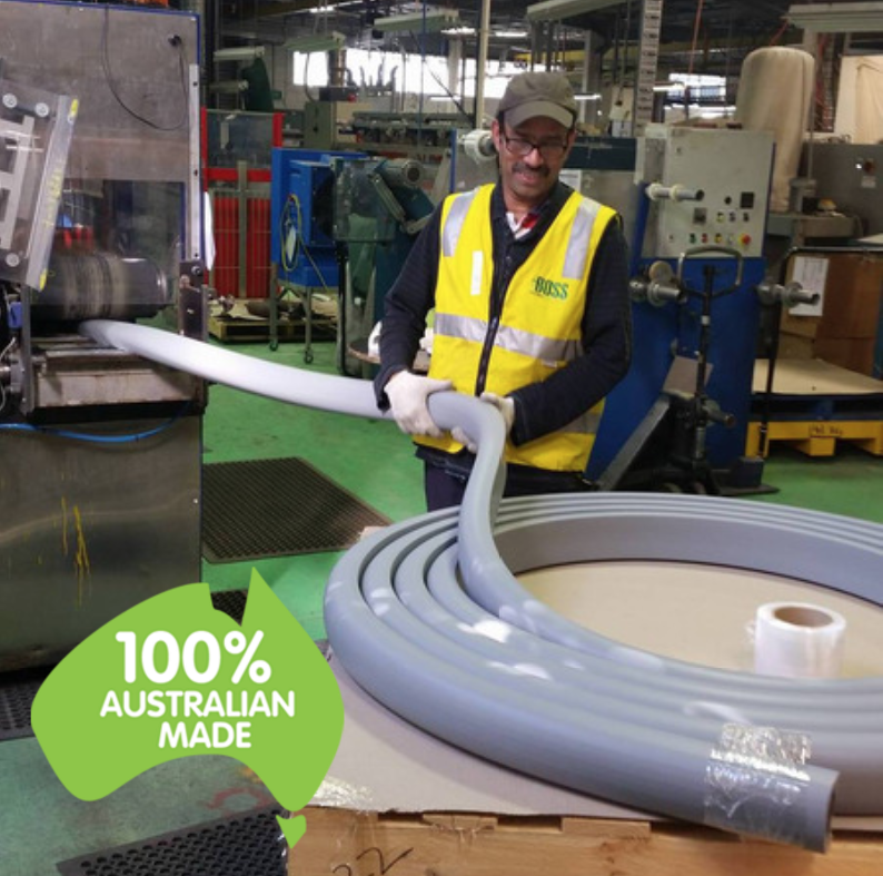 Manufacturing a Boss Marine Fender in our Mulgrave Manufacturing Plant in Victoria Australia