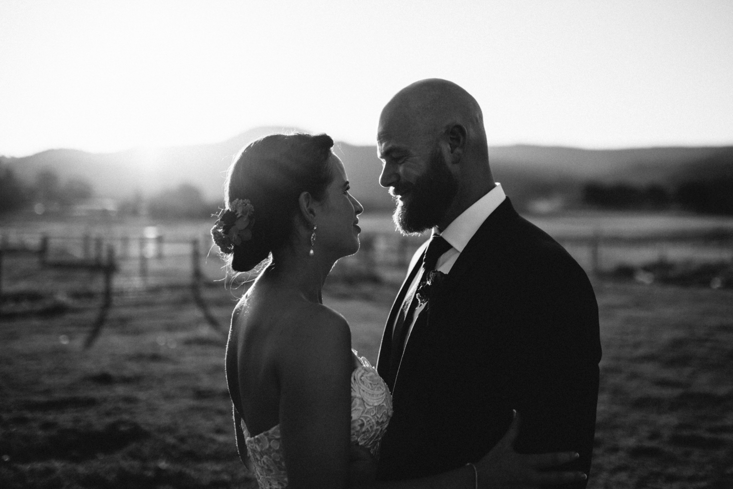 Beautiful wedding portrait at willie smiths apple shed.