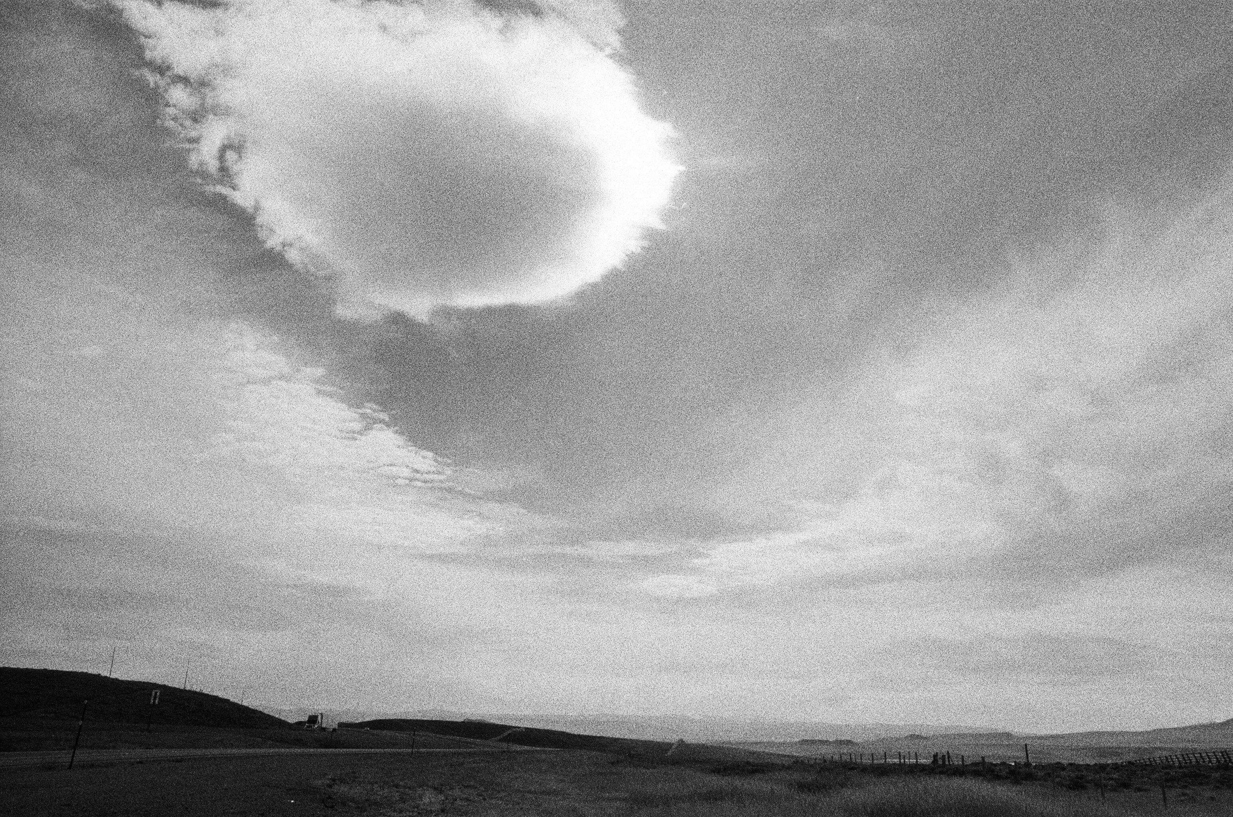 I-80 Roadside, Wyoming, 10/25/16 © Sarah Windels