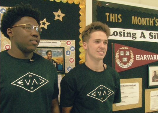 "Eleventh grade students, Christopher Burgess and Billy Luper are spearheading the campaign. They are calling it ""Your Story is Mine."" The teen created a bulletin board that, every month, highlights different challenges students face."