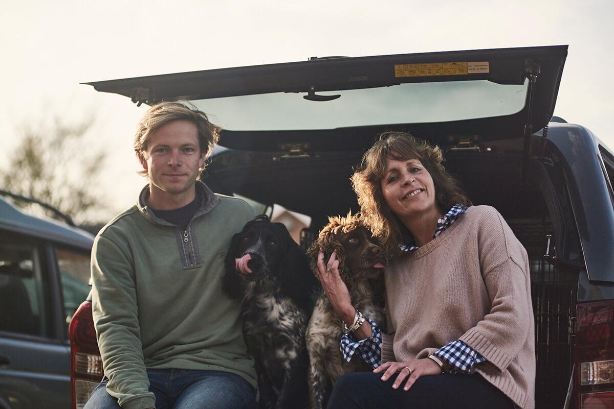 Co-founder Belinda Nash and General Manager William Waterer.