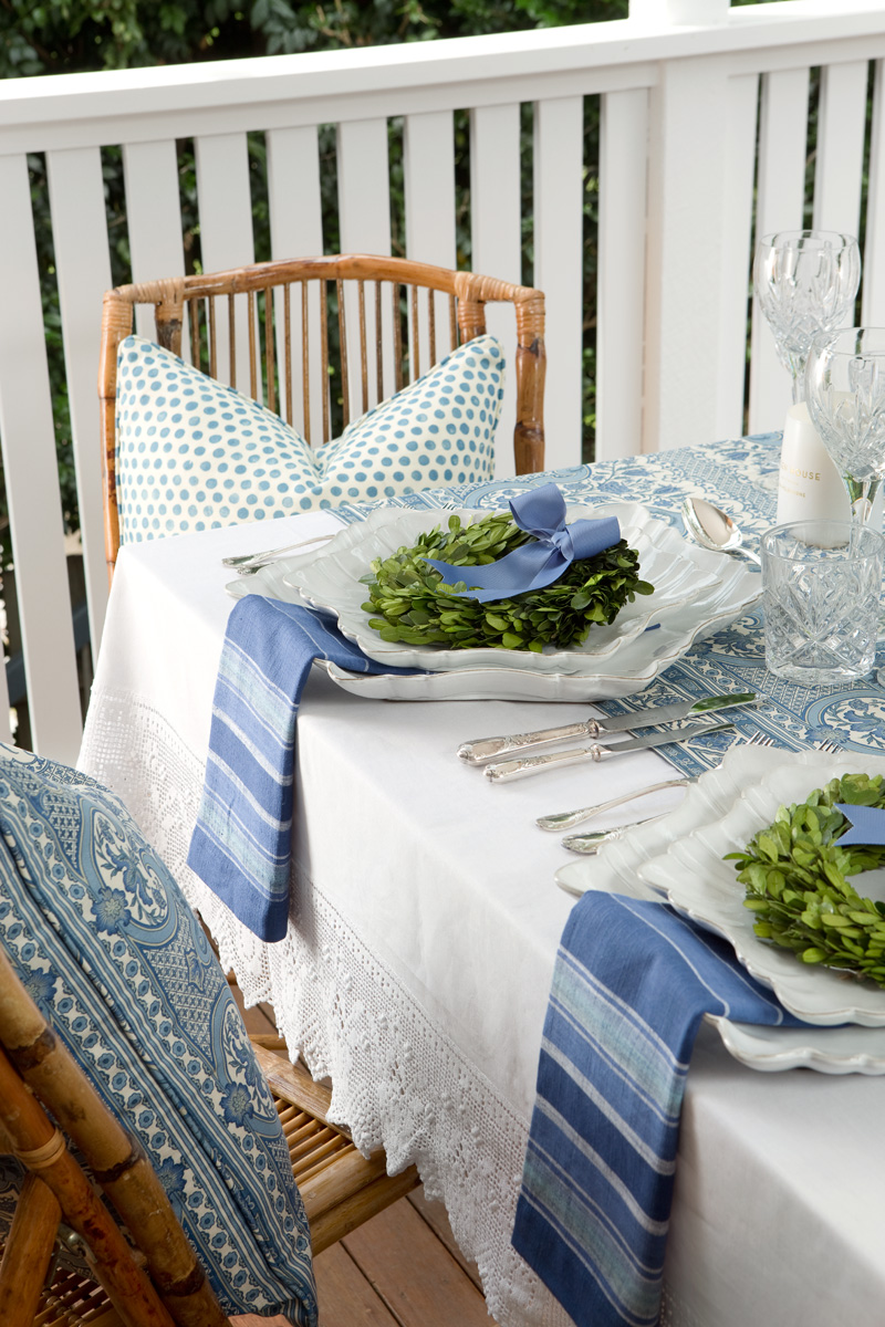 Verandah House Xmas Table Styling