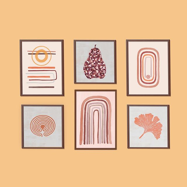 Gallery Wall #1 Desert Moon: Pear Blush: Magic Groove: Labyrinth: 6 Arches: Ginkgo Tangerine Leaf: . These are DIGITAL DOWNLOADABLE Prints… Instant download: . ➡️ Visit my Etsy Shop / EnergyMagicArt *LINK IN BIO . Symbolic meanings in the Esty Shop. . Turn any room into a place you love, for a fraction of the cost, with any of these gorgeous art prints. . Print at home, at your office, local print shop, photo lab or via an online service. . This artwork be scaled up to 900mm. . . #gallerywall #desertmoon #printableart #downloadableprint #moderncontemporaryart #walldécor #digitaldownload #homeinteriordécor #symbolicwallart #retroprint #artwork #energymagicart #wallartdecor #walldecoration#printable #printables #minimalistart #peachtones #modernartwork #graphicartist #homedecor #homedecorideas #homedecorations #warmcolors #interiorart #modernartis #etsyseller #etsyshop #etsylove