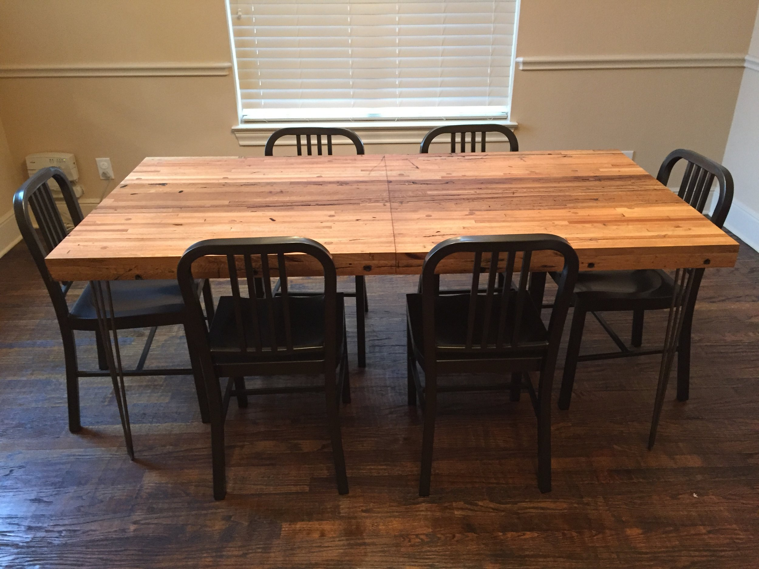 Reclaimed Oak Modern Industrial Table.jpg
