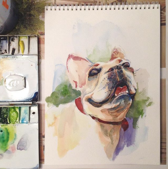 Watercolor on Wednesdays from 7-9pm