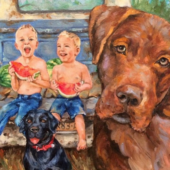 Oil Painting on Sundays from 12:30 - 3:00pm