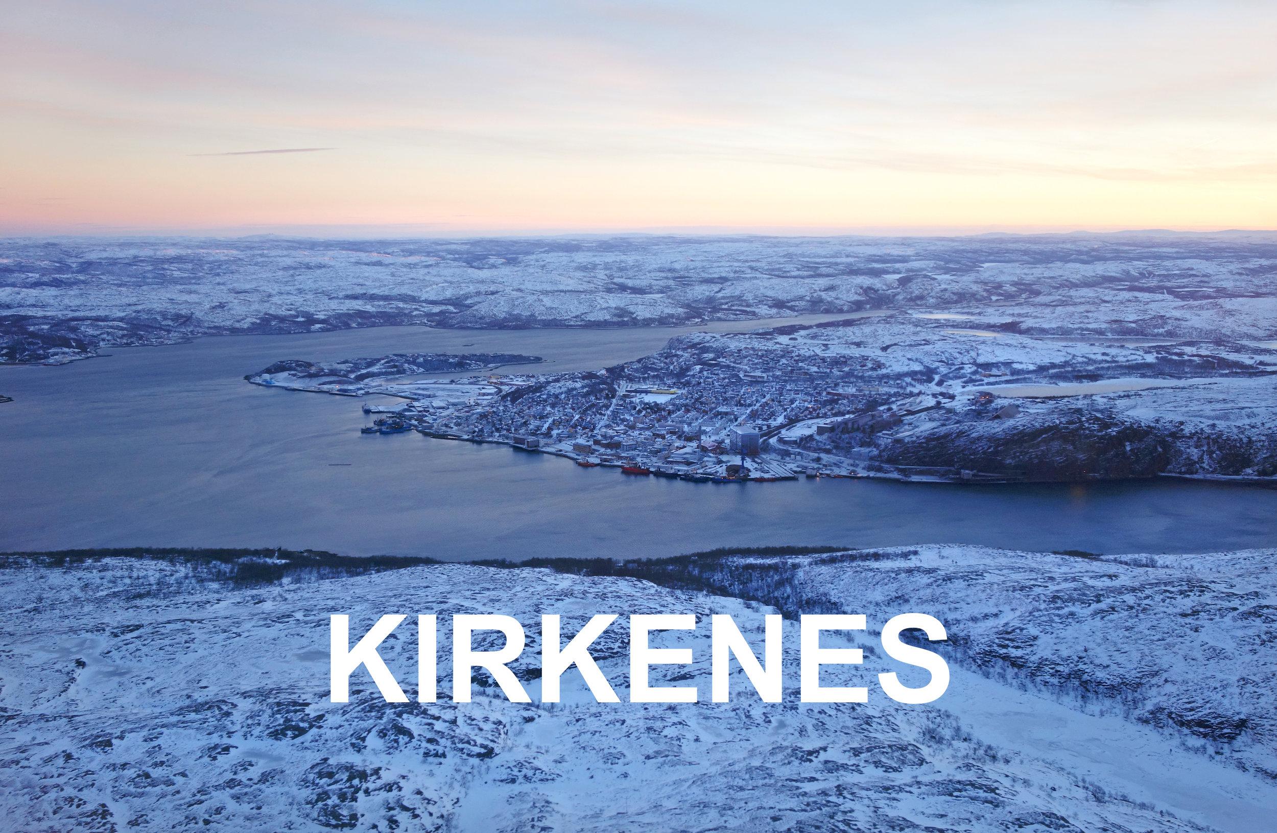 Kirkenes Varanger areal copyright Biotope