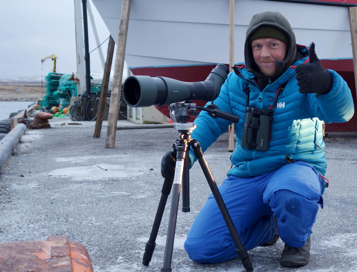 Bird surveying by Tormod Amundsen Biotope in Varanger