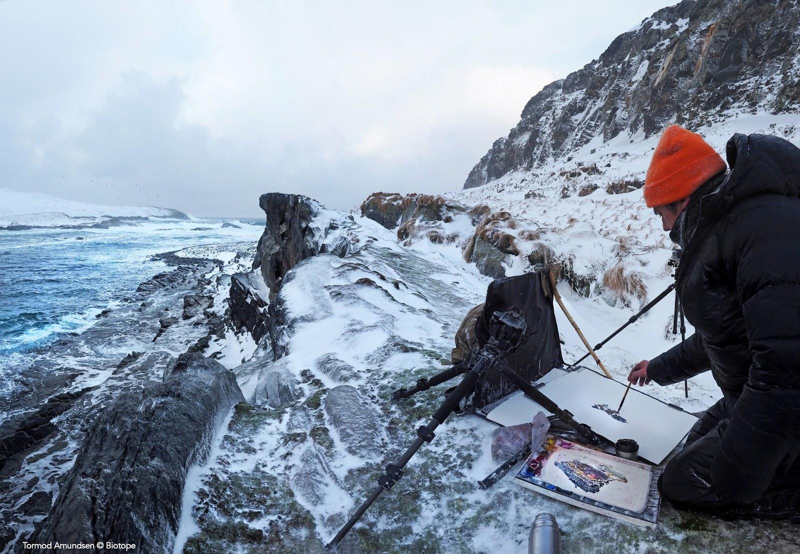 Darren Woodhead on Hornøya Gullfest 2016 med res © Amundsen Biotope.jpg