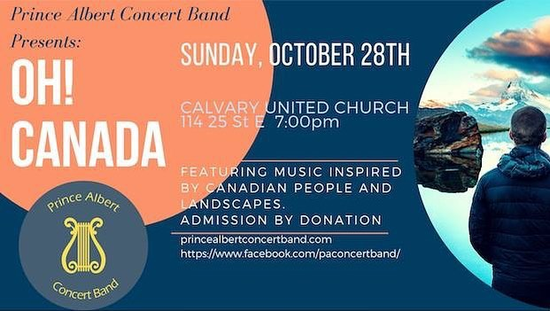 Hey everyone! Our season opener is this Sunday! Come join at Calvary United Church, at 7pm! #band #city #church #goodtime #instruments