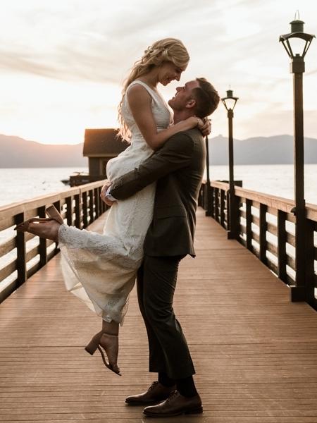 D & K LAKE TAHOE WEDDING