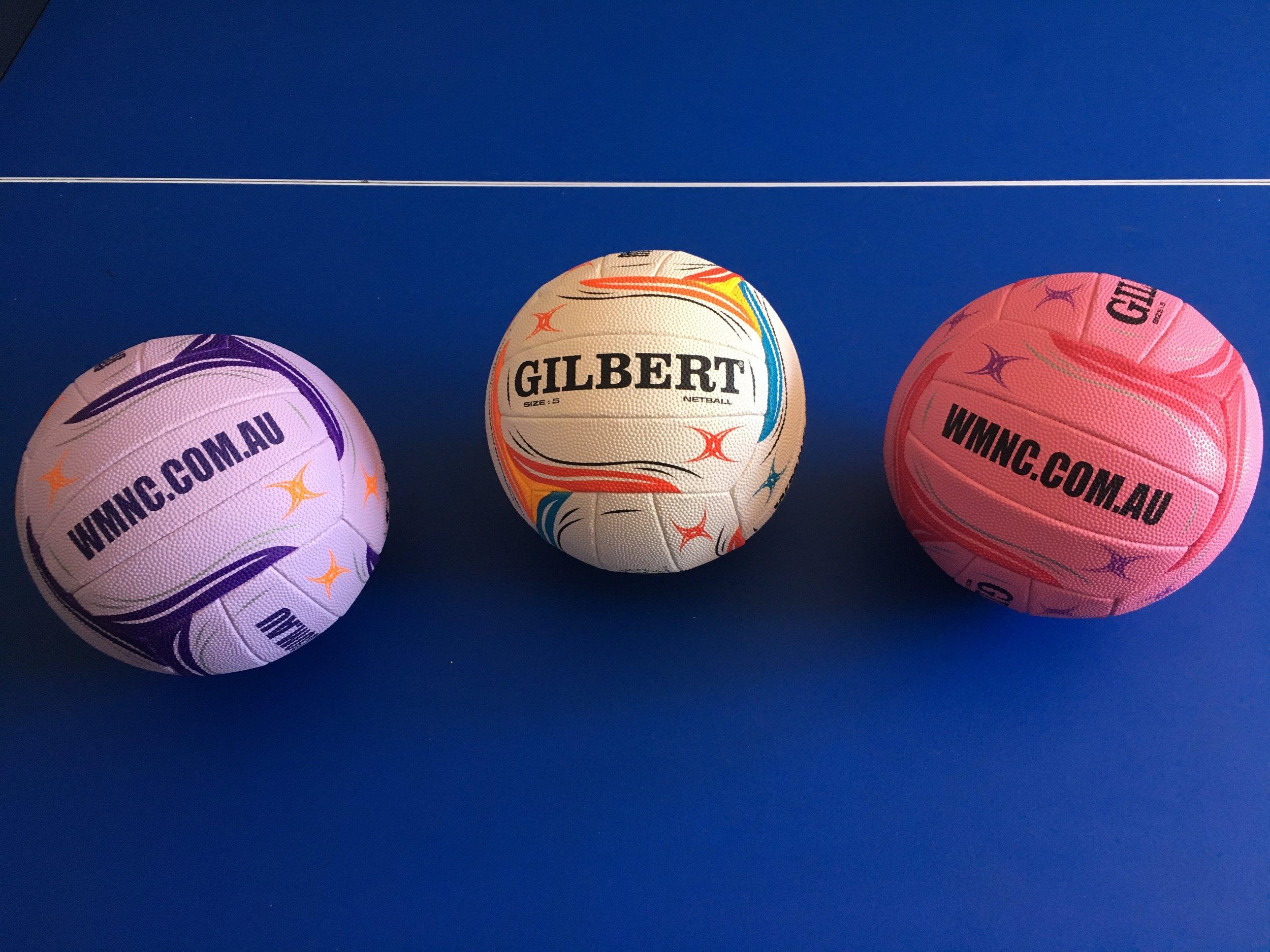 Promotional netballs