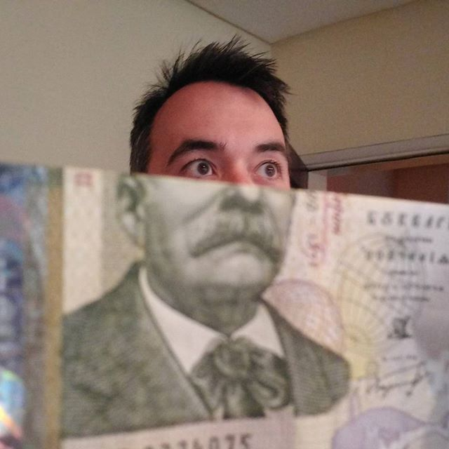 Fun with foreign currency. #notforeignhere