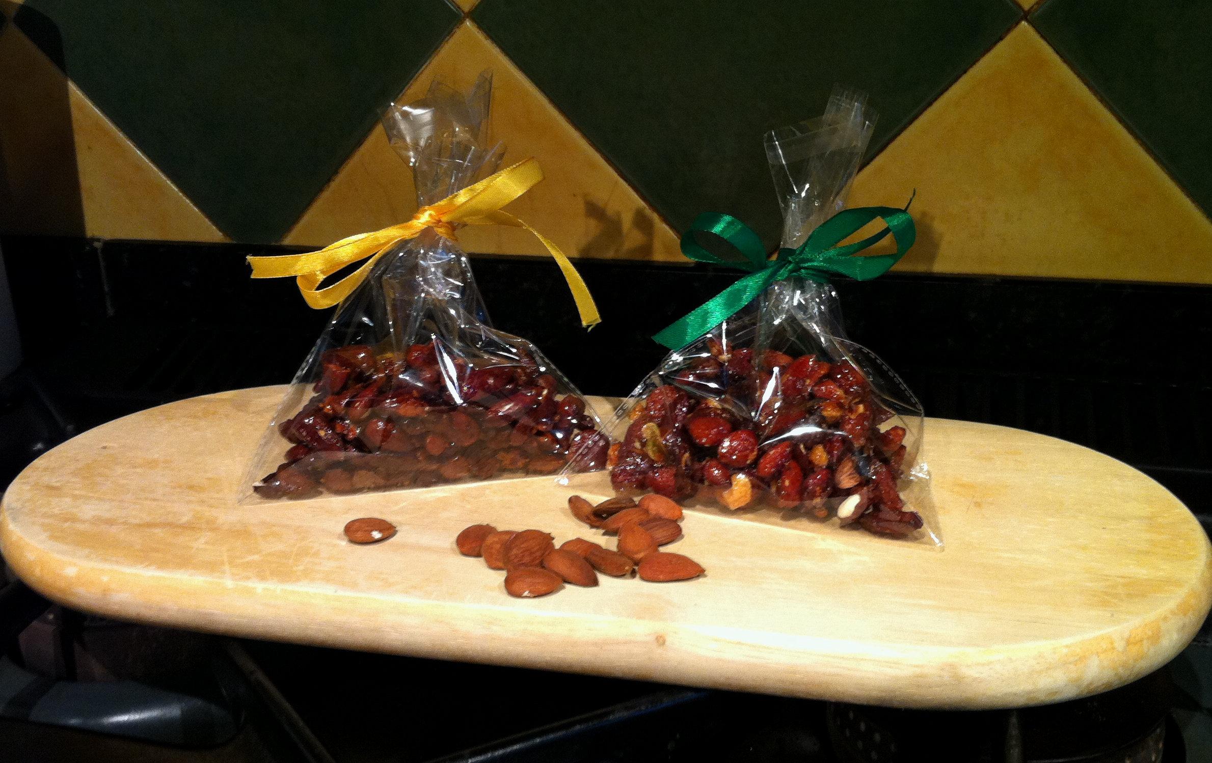 Honey-roasted almonds at La Cazalla: a luxury villa rental in Spain