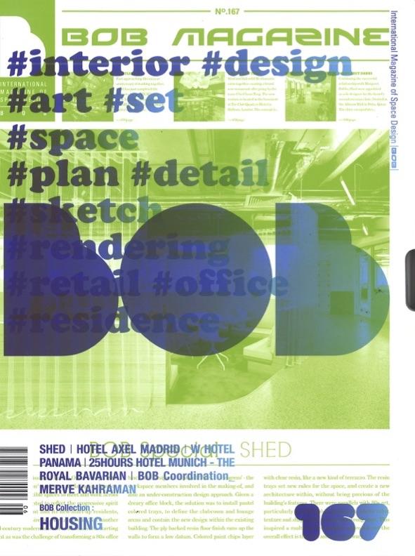 Bob Magazine - Shed feature